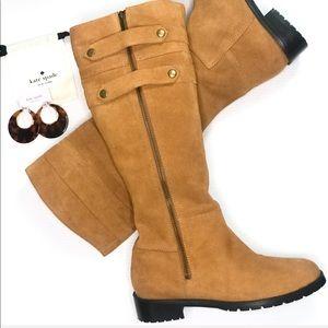 💫New💫Colin Stuart Suede Zip Buckle Boots - 8